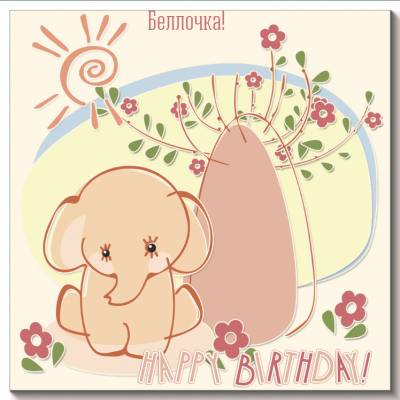 Поздравления с днем рождения белле